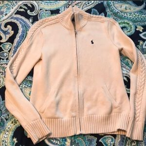 Polo Ralph Lauren Cable Knit Sweater Cream Size M